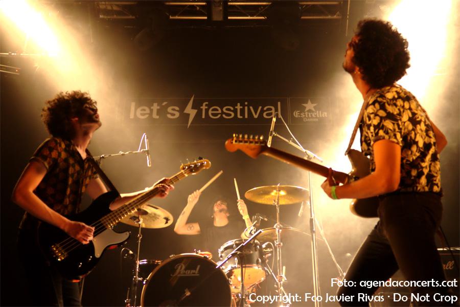 Los Vinagres, actuant al Let's Festival 2017 de L'Hospitalet de Llobregat.