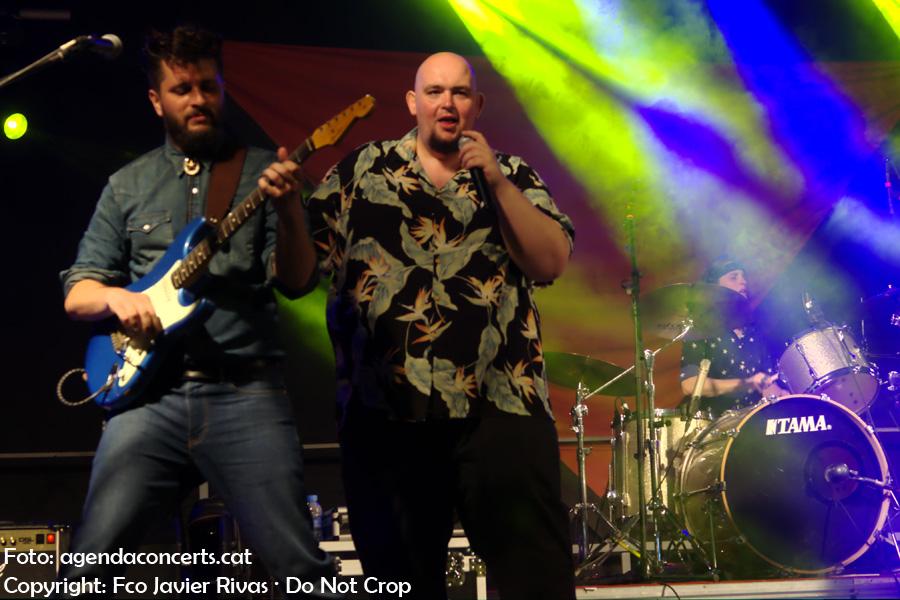 A Contra Blues, actuant al Botifarra Sound 2017 de Sant Feliu de Llobregat.