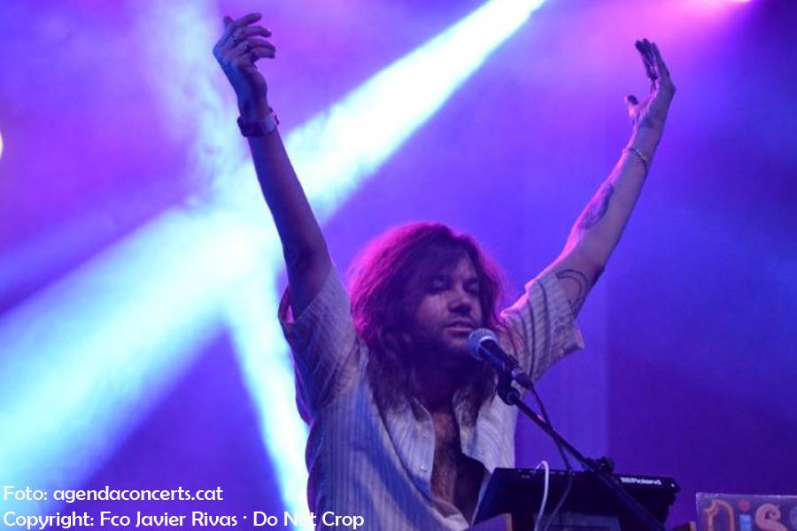 Joe Crepúsculo, actuant al Festival Cara B 2017 de Barcelona.