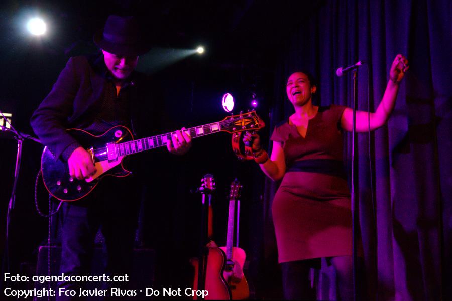 La banda de Julián Maeso de la qual destaca especialment el guitarrista Paco Rivas.