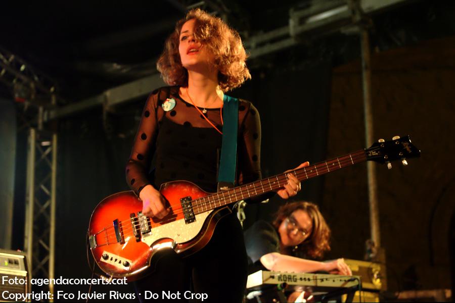 Les Sueques, actuant als concerts del Dia Internacional de la Dona a Nou Barris (Barcelona)