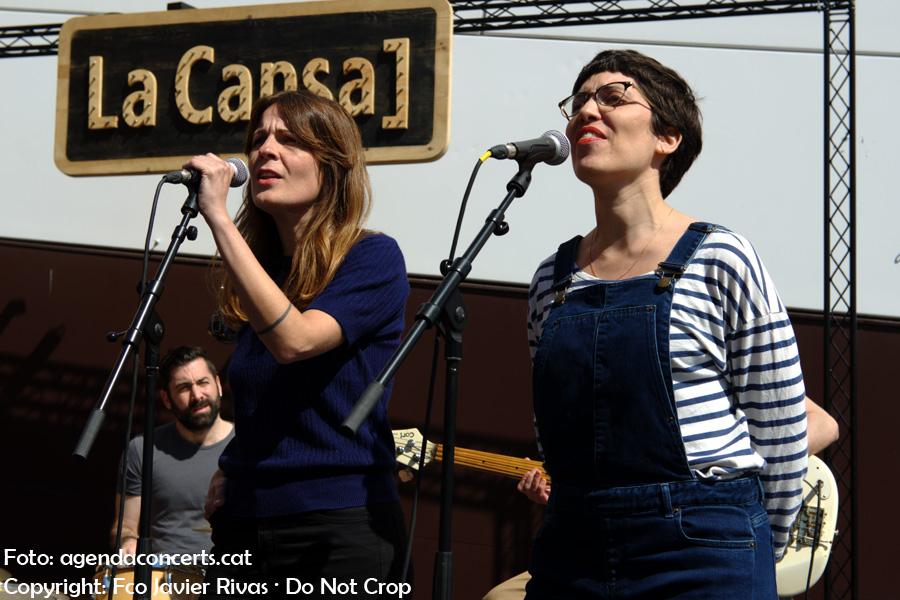 Presentació de 'Flamaradas al Prat' a la terrassa de La Capsa d'El Prat de Llobregat.
