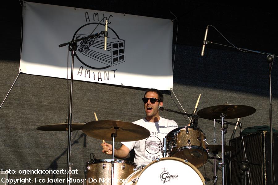 Aldrin y Collins, actuant a l'Amic Fest 2017 de Cerdanyola del Vallès.