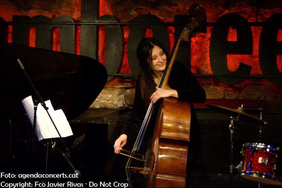 Giulia Valle Trio, actuant al Jamboree de Barcelona.