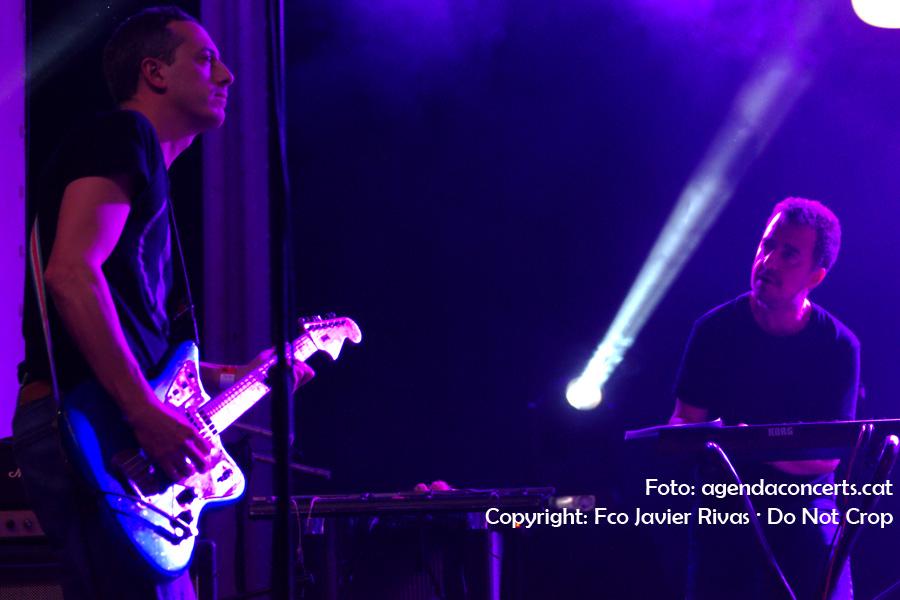 Nueva Vulcano, actuant al Festival Cara B 2017 de Barcelona.