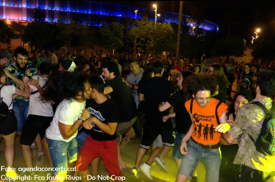 Wall of death al concert del grup Blaze Out al Chimp&Fest a Cornellà de Llobregat.
