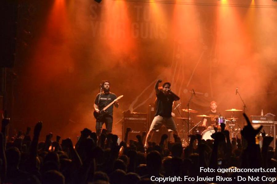 Stick To Your Guns, actuant a la sala Razzmatazz de Barcelona.