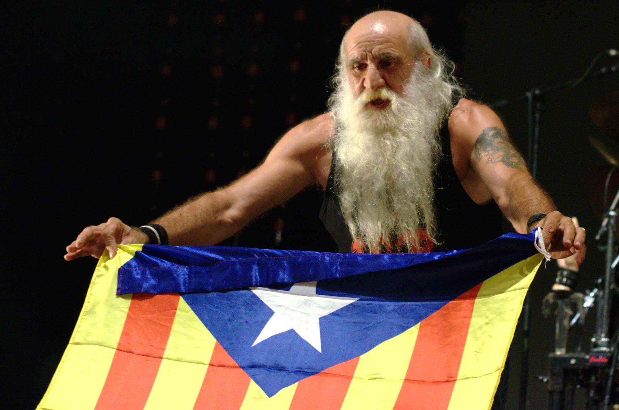 Mor Martín Rodríguez, carismàtic batería de Sangtraït