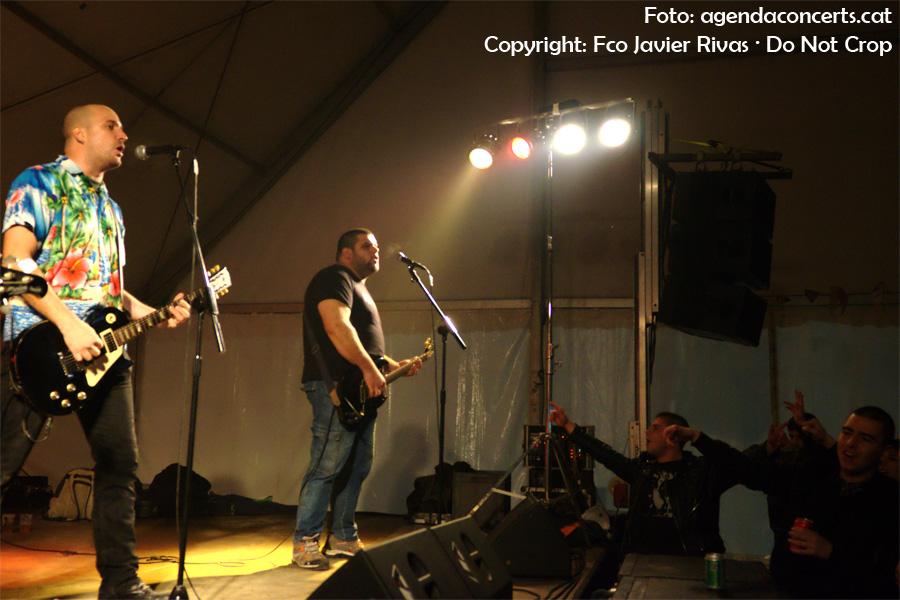 Red Bruts ha estat el primer grup de punk a tocar a la carpa de la Impuríssima dins el marc de la Fira de la Puríssima 2016 de Sant Boi de Llobregat.