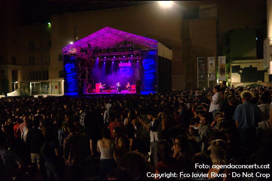 Numerosas cancelaciones de conciertos en La Mercè 2016 debido a la lluvia: Ramon Mirabet, Bad Gyal, Outer Space, Jordi Molina...