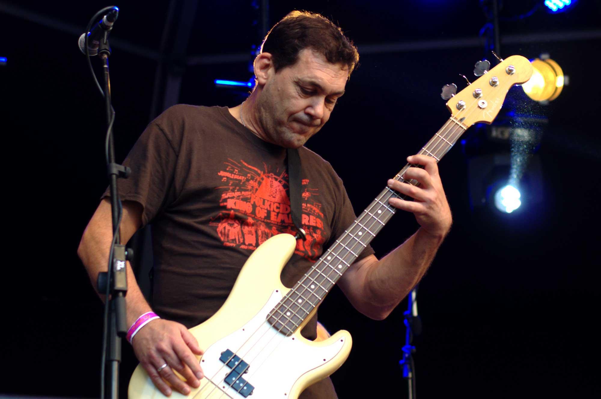 Guy Maddison, bajista de Mudhoney en el Primavera Sound 2016