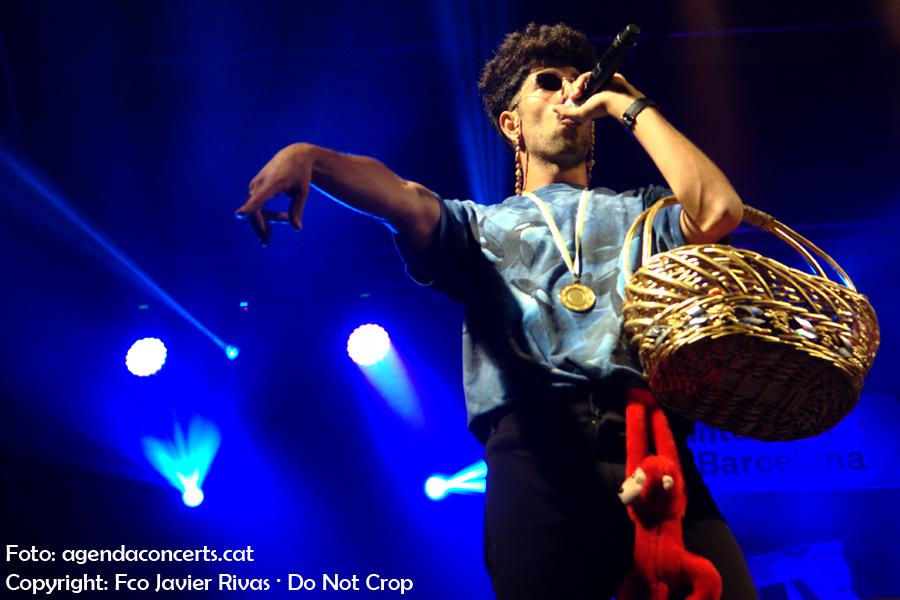 Bejo, actuant al Festival BAM a la Rambla del Raval durant les festes de La Mercè de Barcelona.