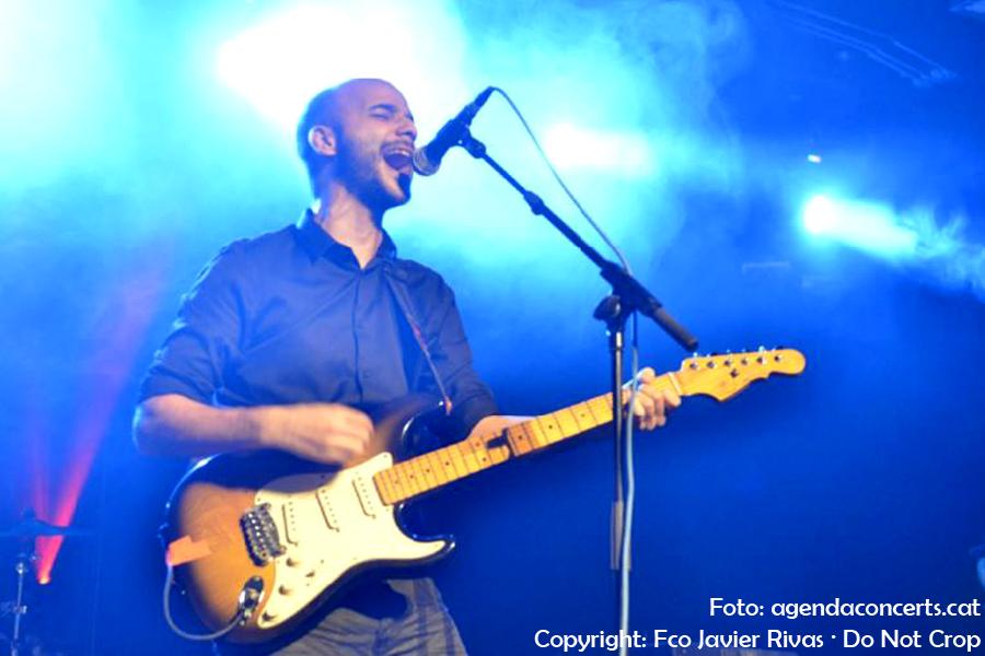 El grup valencià Linqae, actuant al Festival Altaveu 2017 de Sant Boi de Llobregat.