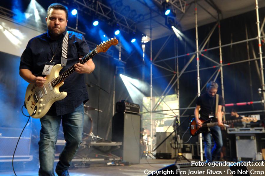 El grup [zelig], actuant al Festival Altaveu 2017 de Sant Boi de Llobregat.