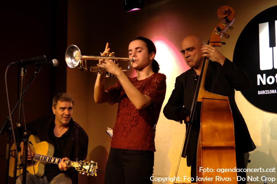 Andrea Motis & Joan Chamorro Quintet inauguren la sala Nota79