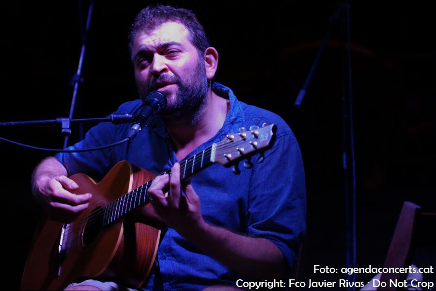 Jordi Lanuza (Inspira), actuant a la Festa Major de Gràcia 2017.