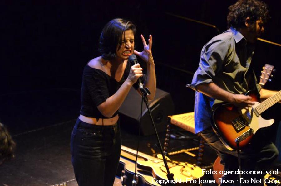 Maria Arnal i Marcel Bagés, actuant al Festival Altaveu 2017 de Sant Boi de Llobregat.