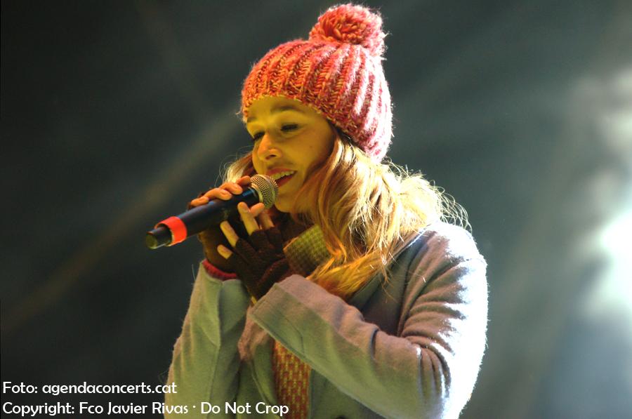 Beth, actuant al Concert per la Llibertat a l'Estadi Olímpic de Barcelona.