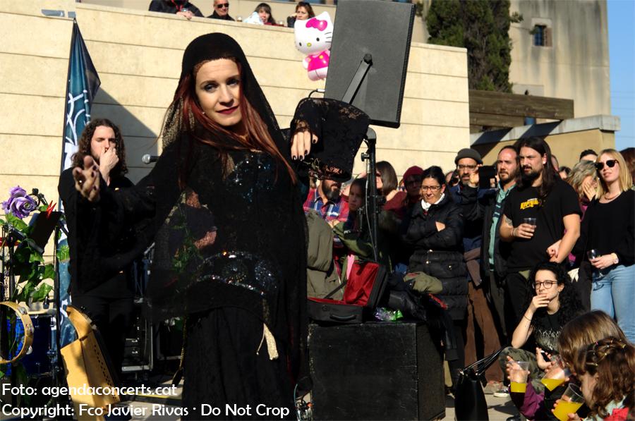 Trobar de Morte, actuant a la Fira de la Puríssima de Sant Boi de Llobregat.