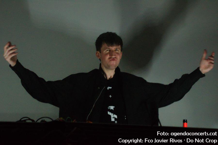 Samuel Kerridge, actuant al cicle DNIT del Caixafòrum de Barcelona.