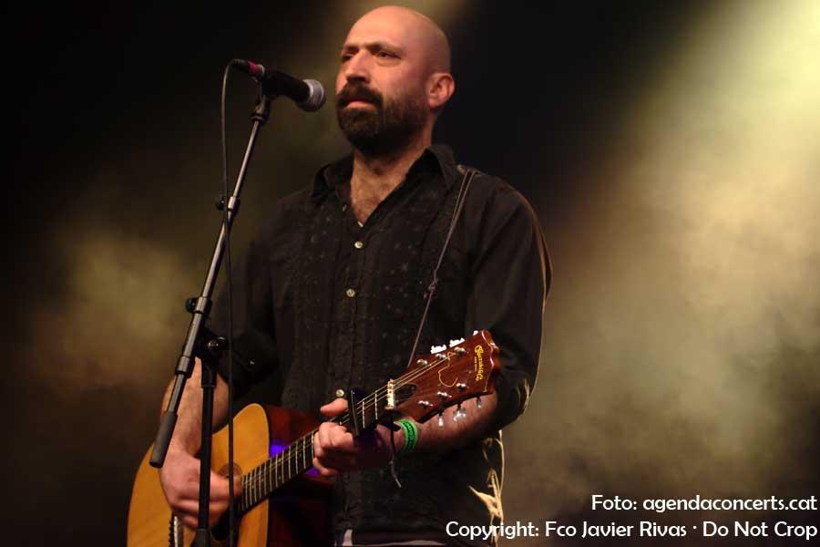 Flamaradas, actuant a l'Emergència Festival al CCCB de Barcelona.