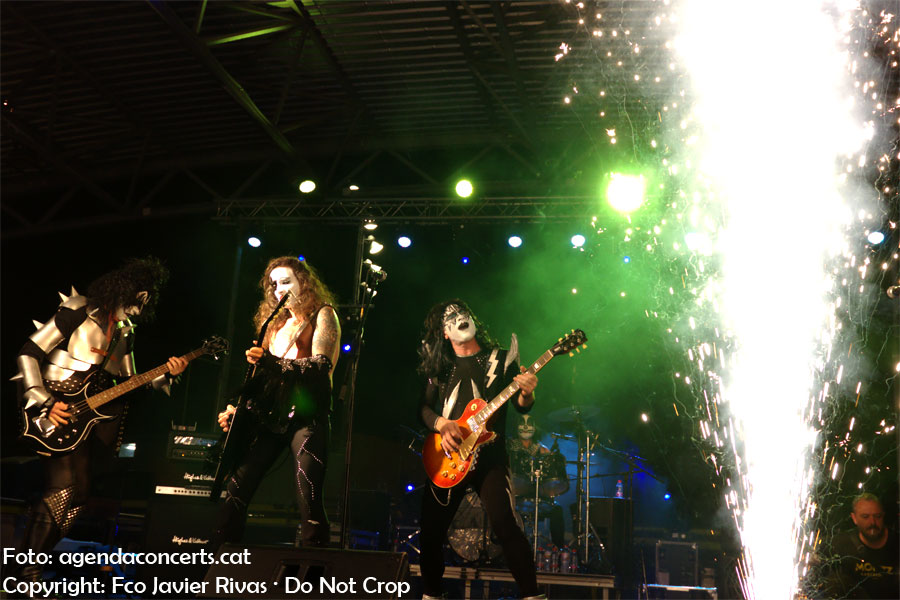 Kiss of Death, tribut a Kiss, actuant al CanviRock d'Esplugues de Llobregat.