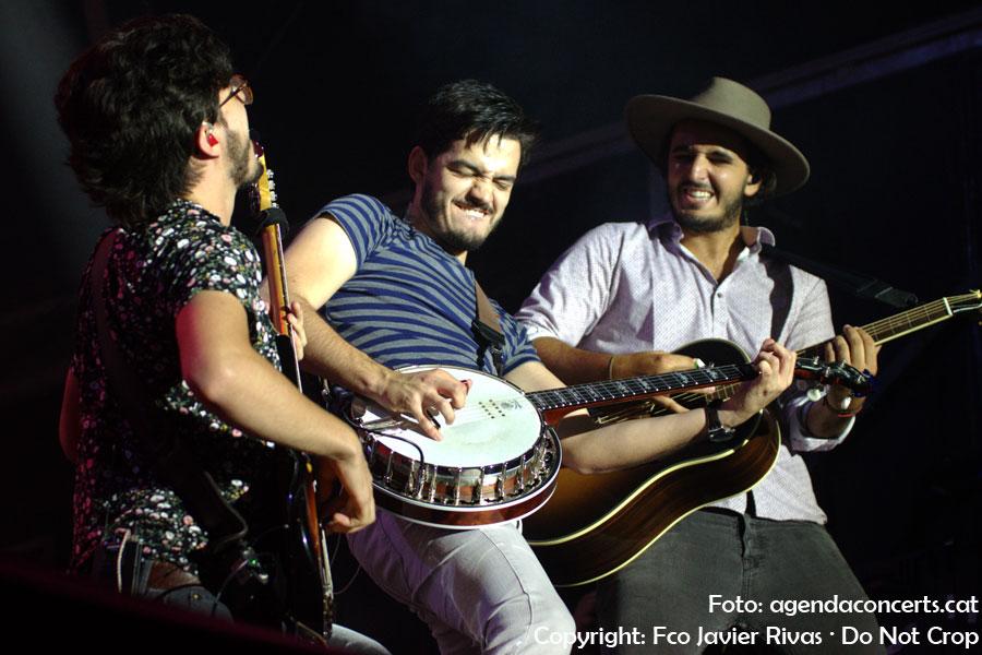 Morat, actuant al Share Festival 2018 al Poble Espanyol de Barcelona.