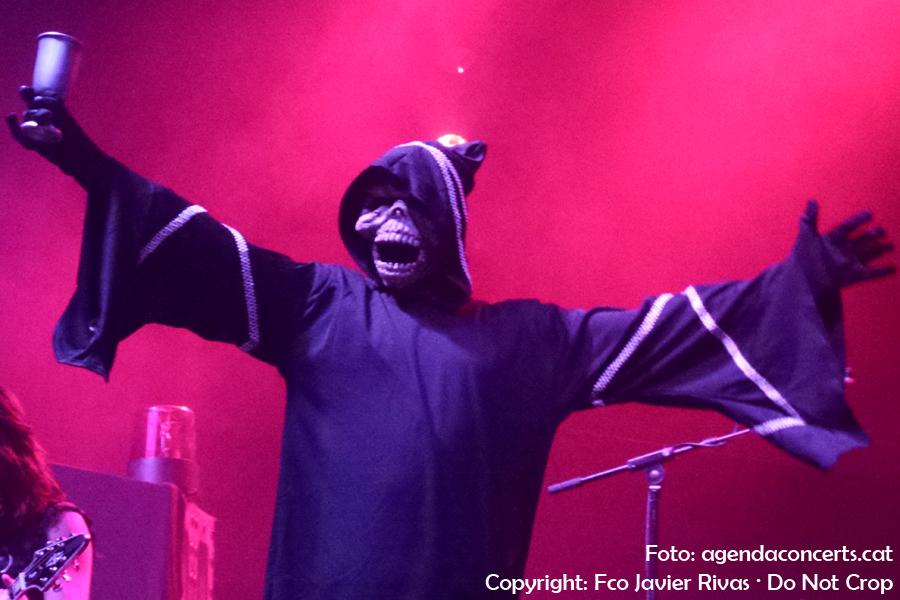 Night Demon, presentant 'Darkness Remains' a la sala Razzmatazz de Barcelona.