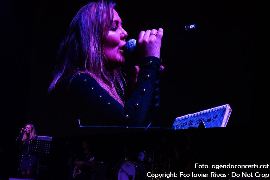 Amaia Montero, actuant a les festes de La Mercè 2018 de Barcelona.