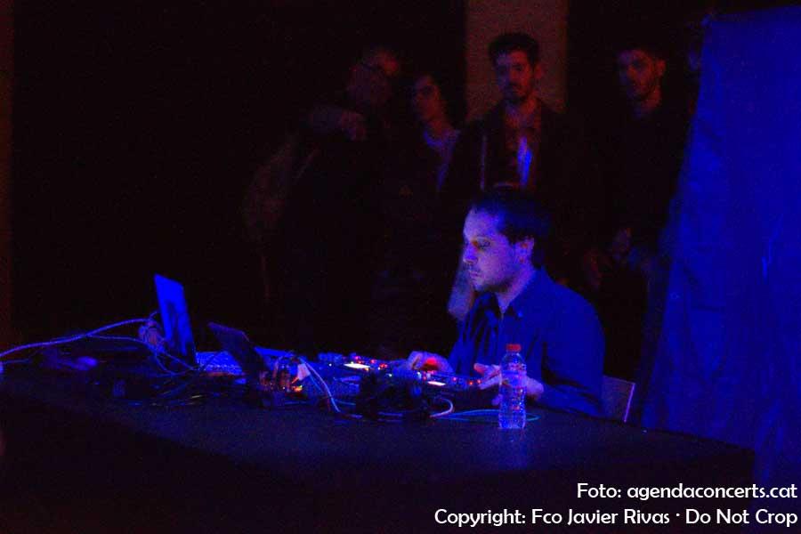 Arnau Sala, Ex Continent, actuant a l'Eufònic Urbà de Barcelona.