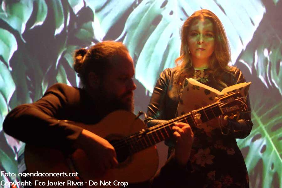 Rocío Márquez, actuant al CCCB de Barcelona dins el marc de l'exposició 'Després de la fi del món'.