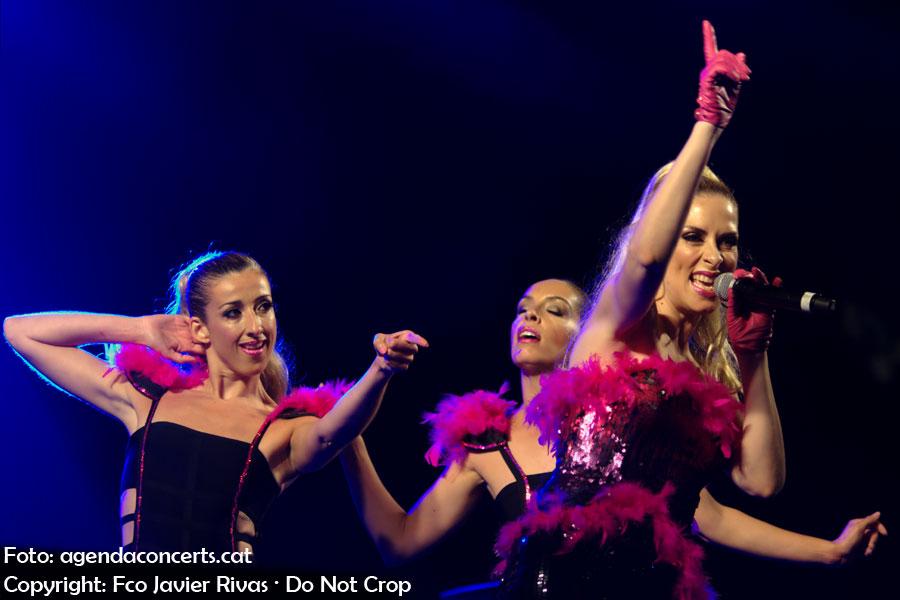 Roser, presentant 'Diva's Disco' al Pride Barcelona 2018.