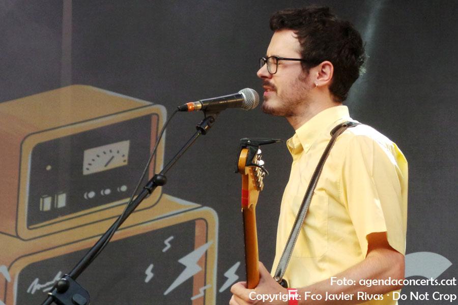 Cala Vento, actuant el Dia de la Música al Poble Espanyol de Barcelona.