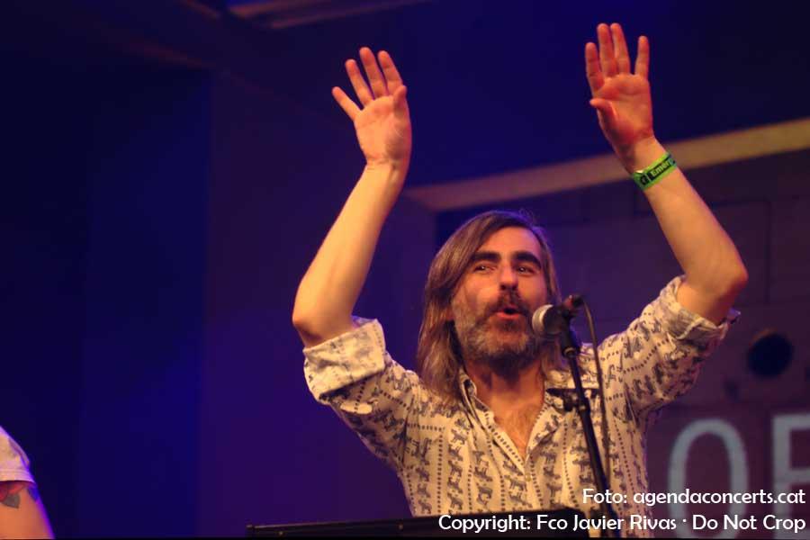 Joe Crepúsculo, actuant a l'última edició de l'Emergència Festival al CCCB de Barcelona.