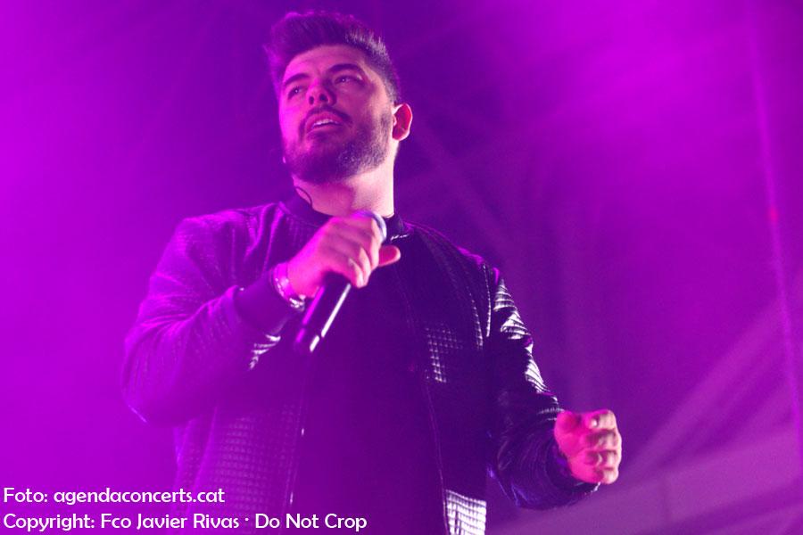 Demarco Flamenco, actuant a les Festes de la Primavera 2018 de L'Hospitalet de Llobregat.