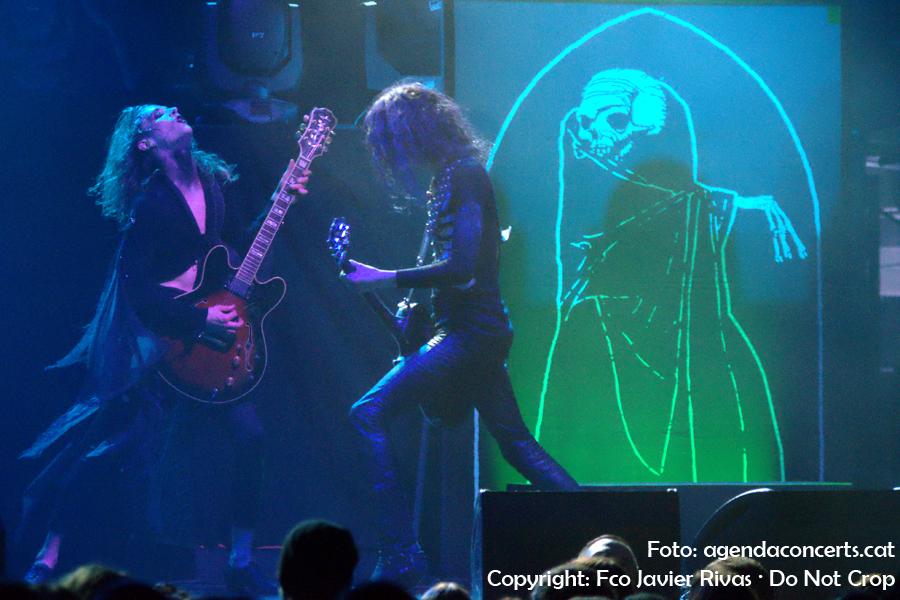 Tribulation, actuant a la sala Razzmatazz 1 de Barcelona.