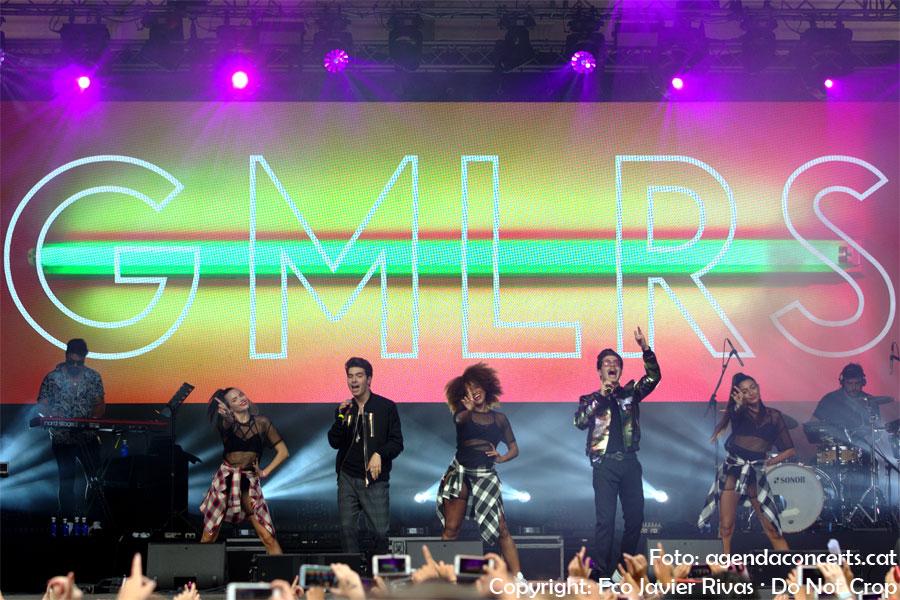 GMLRS (Gemeliers), actuant al Share Festival 2018 de Barcelona.