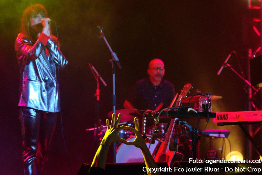 La Bien Querida, actuant a la Salamandra de L'Hospitalet de Llobregat dins el Let's Festival.