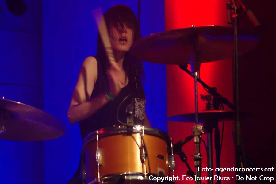 El duet Bala, actuant a l'Emergència Fest al CCCB de Barcelona.