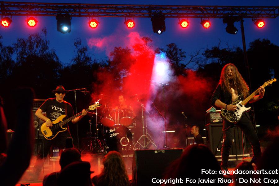 Vizio, actuant al Can Mercader Festival 2018 de Cornellà de Llobregat.