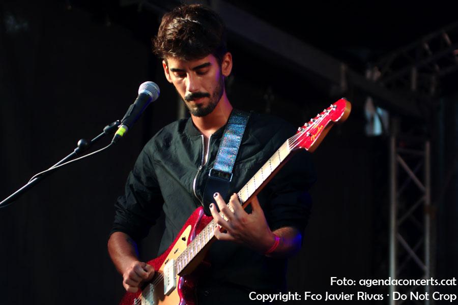 Agost, actuant al Festigàbal durant la Festa Major de Gràcia 2018.