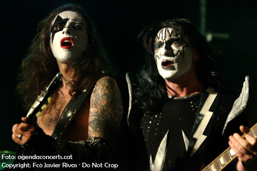 Kiss of Death, tribut a Kiss, actuant al CanviRock d'Esplugues de Llobregat.
