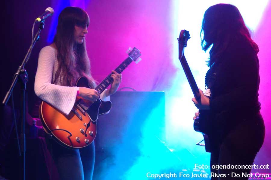 Las Robertas, actuant al Festival Cara·B de Barcelona 2018.