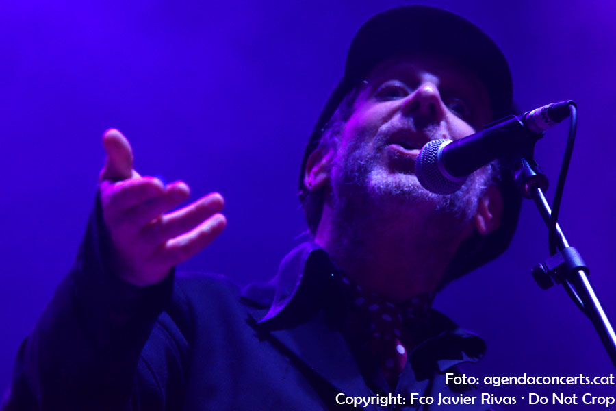 Mercury Rev, actuant a la plaça dels Àngels de Barcelona durant les festes de La Mercè - BAM 2018.