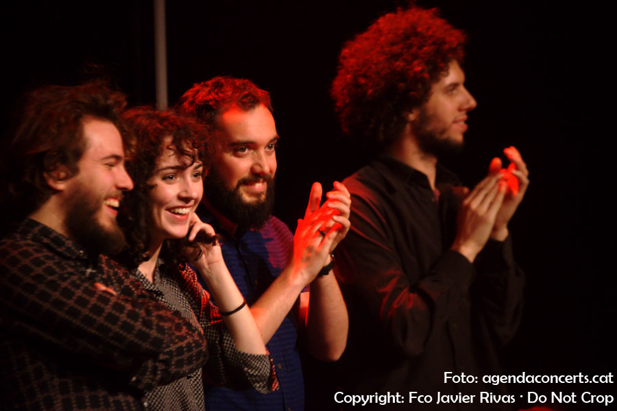 Núria Graham, actuant a l'Auditori de Cornellà de Llobregat.