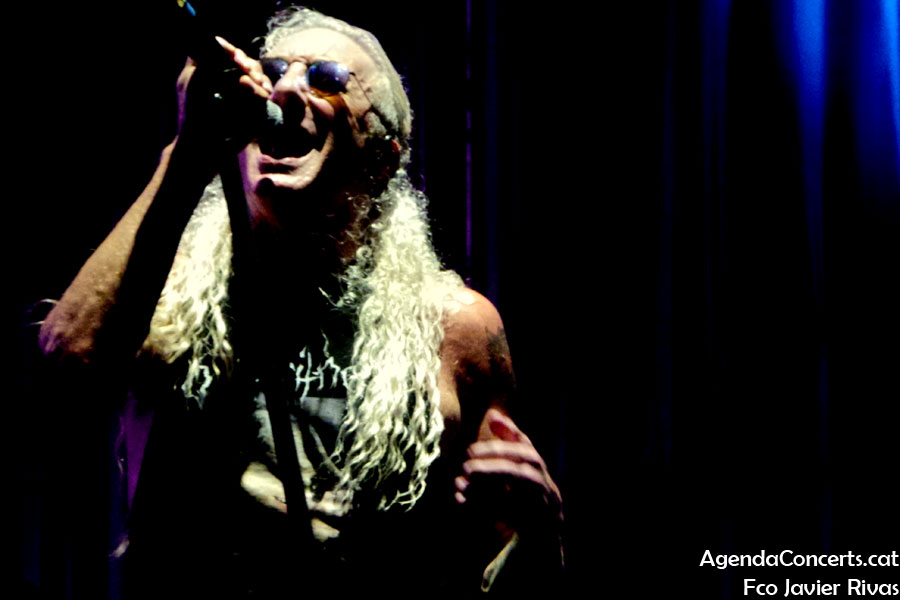 Dee Snider, performing at Rock Fest Barcelona 2019.