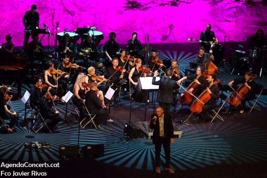 Quimi Portet, actuando en el Teatre Grec de Barcelona.