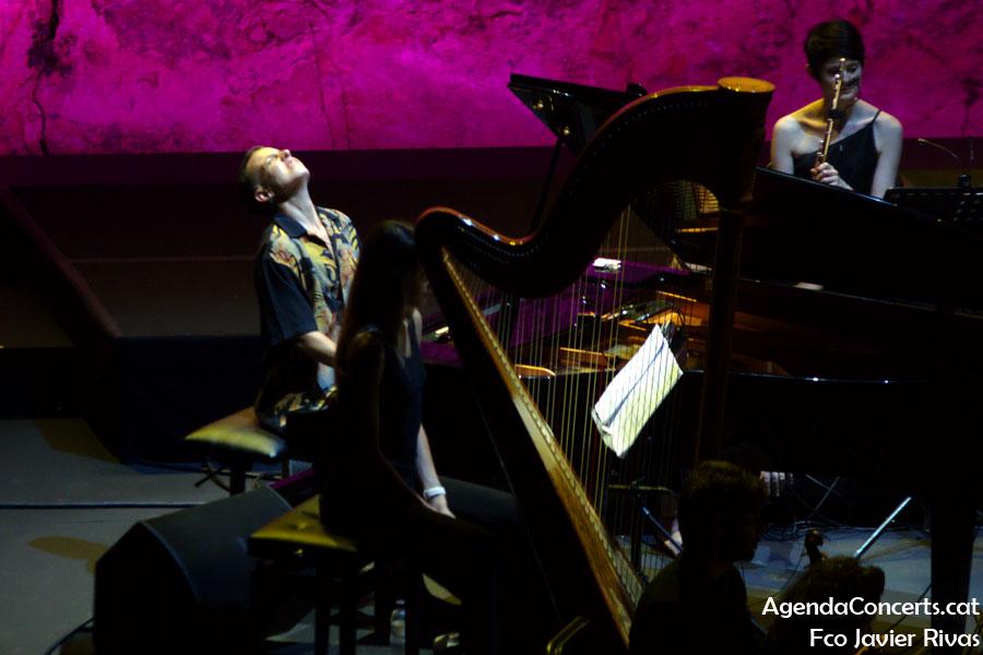 Clara Peya, actuant al Teatre Grec de Barcelona.