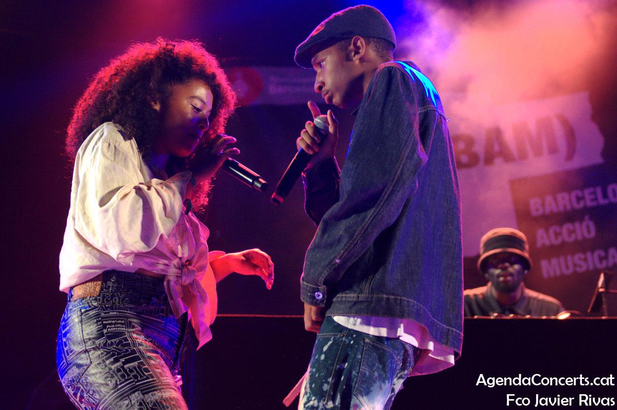 Danitsa, actuando en el Festival BAM 2019 de Barcelona.