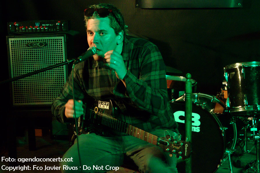 Koldo, performing at Lo-Fest 5 in Sant Boi de Llobregat.